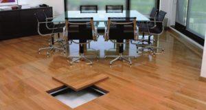 Thiết kế sàn nâng kỹ thuật cho văn phòng