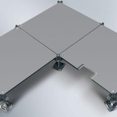 Sàn kỹ thuật thép 500 x 500 x 28mm.